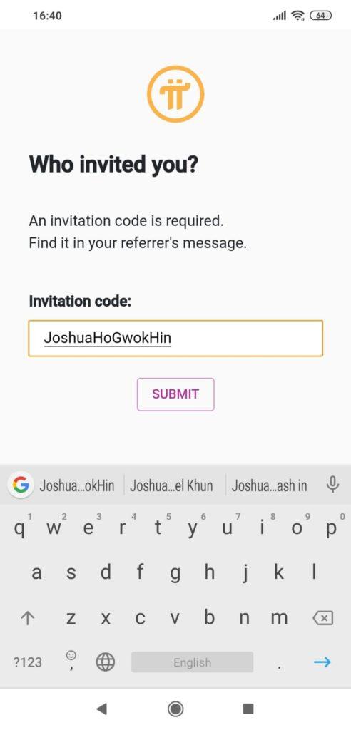 Referrer Code - Pi Network Scam Review